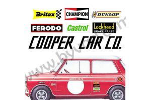 Kit déco Austin mini Cooper Car CO