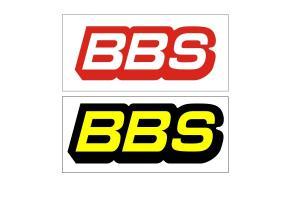 Kit 4 Stickers de jantes BBS