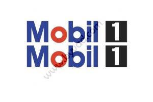 Kit deux stickers 'MOBIL 1'