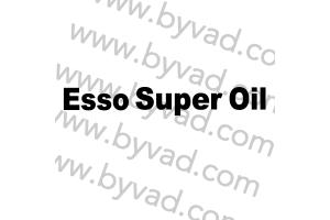 Sticker Esso Super Oil pour aileron Delta