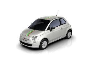 Bande de toit Italie avec bande blanche
