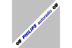 Bandeau pare soleil Philips Autoradio