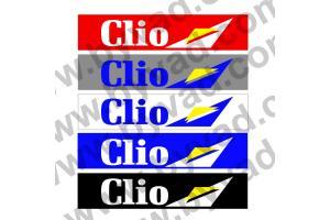 Cache plaque immatriculation Renault Clio Diac