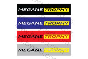 Cache plaque immatriculation MEGANE TROPHY