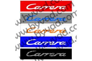 Cache plaque immatriculation PORSCHE Carrera