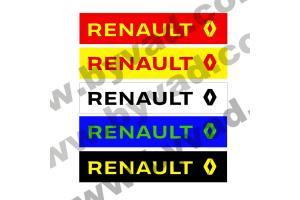 Cache plaque immatriculation Renault