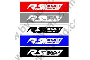 Cache plaque immatriculation RS Renault Sport