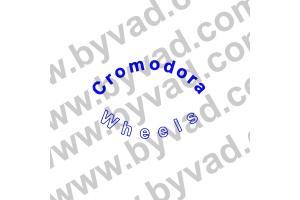 Kit 4 stickers de jante Cromodora Wheels