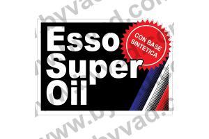 Sticker ESSO SUPER OIL