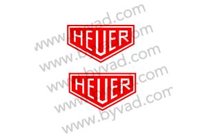 2 Stickers Heuer