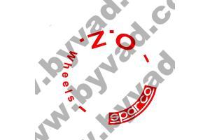 Kit 5 stickers de jante OZ SPARCO