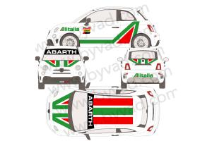 Kit complet Fiat 500 Abarth AL ITALIA