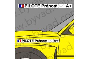 Lettrage Pilote 04