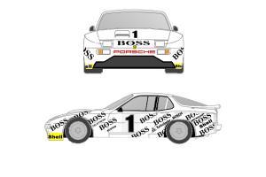 Kit déco Porsche 944 GTP 24H du Mans 1981