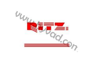 Kit 3 stickers RITZ + Liseret