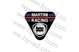 Autocollant Lancia Martini Racing