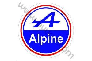 LOGO ALPINE 1975