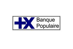 Sticker Banque populaire 1980