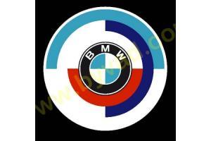Kit de 2 stickers BMW Motorsport 1980