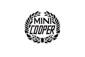 Kit de 3 stickers Austin mini Cooper