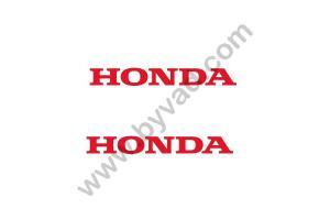 2 Stickers Honda 50 cm