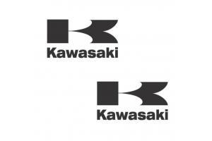 2 Stickers Kawasaki