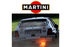 Kit 2 stickers Martini 30 cm