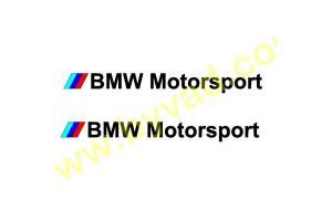 Kit de 2 Stickers BMW Motorsport