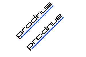 Kit de 2 stickers Prodrive BMW