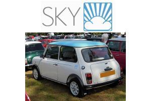 Kit 3 stickers Mini Sky + Liseret