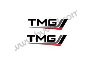 2 Stickers TMG Toyota Motorsport 50 cm