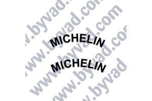 Autocollant MICHELIN AILES AVANT ALPINE x 2