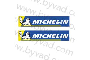 2 Stickers michelin WRC