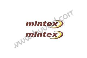 2 Stickers Mintex