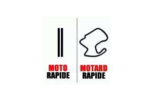 Sticker Moto Rapide - Motard Rapide