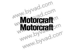 Deux autocollants Motorcraft
