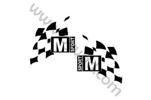 Stickers M-SPORT x2