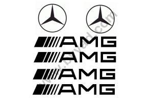 Kit stickers Mercedes