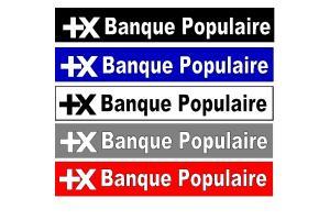 Bandeau pare soleil Banque Populaire