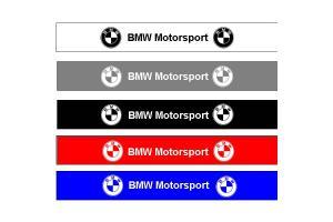 Bandeau pare soleil BMW Motorsport