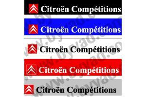Bandeau pare soleil Citroen Compétition VHC