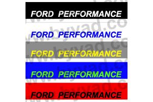Bandeau pare soleil Ford Performance 01