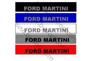 Bandeau pare soleil Ford Martini