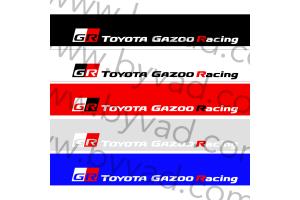 Bandeau pare soleil Toyota Gazoo Racing