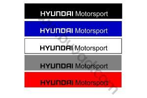 Bandeau pare soleil Hyundai Motorsport