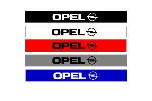 Bandeau pare soleil Opel