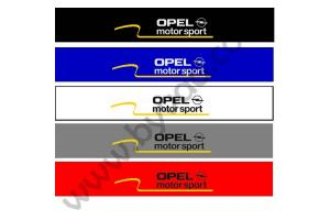 Bandeau pare soleil Opel Motorsport