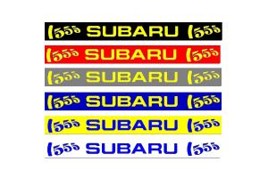 Bandeau pare soleil Subaru 555