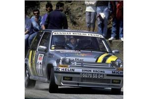 Kit déco R5 GT Alain Oreille Tour de Corse 1989