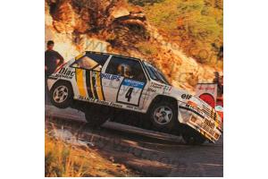 Kit déco R5 GT Jean Ragnotti VAR 88